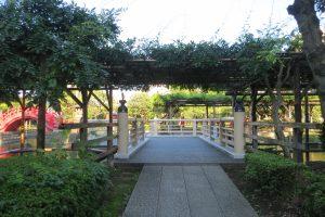 心字池の橋