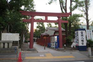 富岡八幡宮(西鳥居)