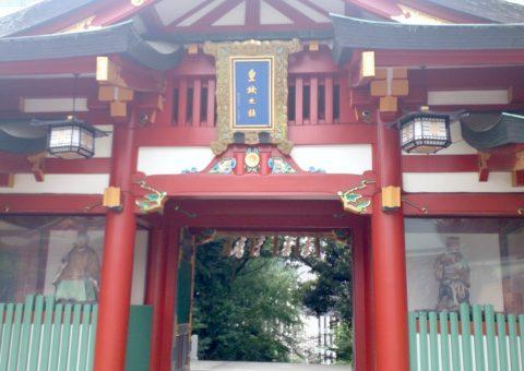 神門(社殿側)