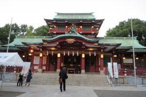 富岡八幡宮 拝殿(正面)