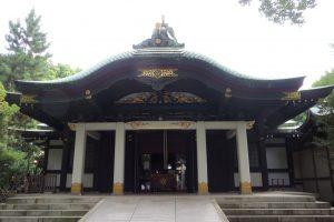 王子神社 拝殿(正面)