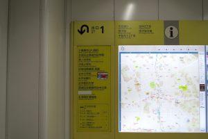 千駄木駅 1番口