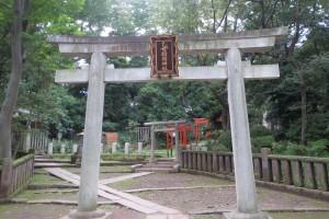 乙女稲荷神社 鳥居