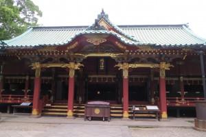 拝殿(正面)