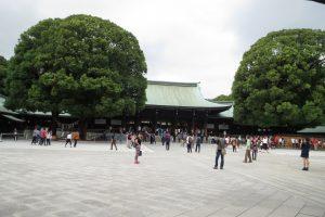 社殿(前広場)
