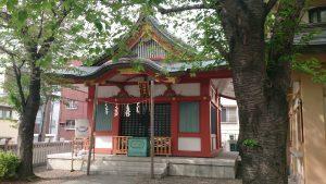 浅草富士浅間神社 拝殿