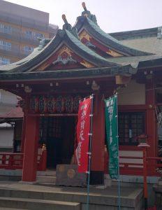 吉原神社 社殿