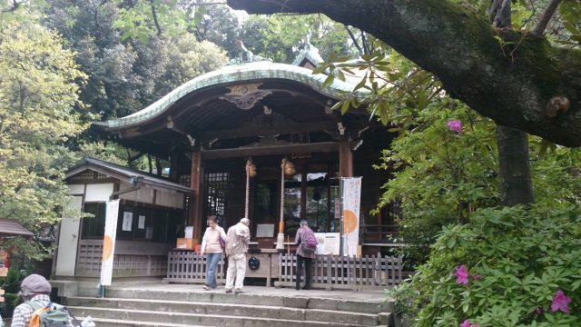 御田八幡神社 社殿
