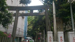 御田八幡神社 鳥居