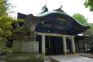 王子神社 狛犬・社殿