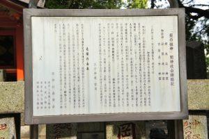 境内末社 関神社 由緒