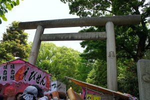 根津神社 北西の鳥居