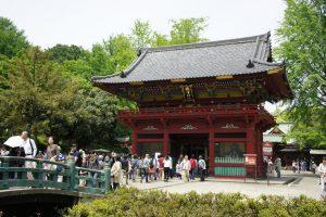 根津神社 桜門