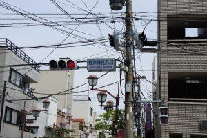 根津神社入口(交差点)