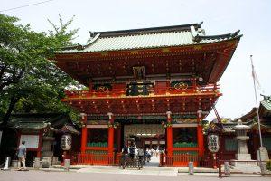 神田神社 随神門