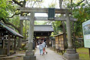 氷川神社 二の鳥居