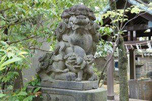 赤坂氷川神社 狛犬