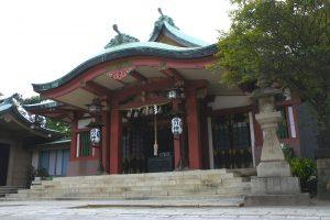 品川神社 社殿