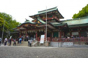 富岡八幡宮 社殿