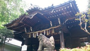 白山神社 狛犬・社殿