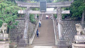 品川神社 双龍鳥居