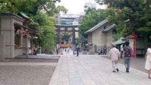 富岡八幡宮 参道