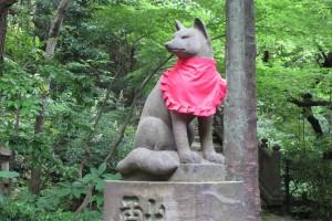境内 四合稲荷神社(吽)