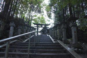 遥拝殿 階段