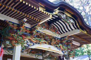 社殿 装飾1